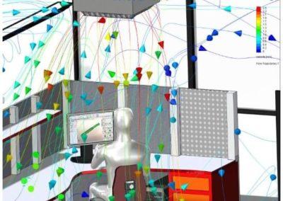SOLIDWORKS Flow Simulation | Sistemas de ventilación HVAC