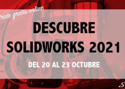 Descubre SOLIDWORKS 2021 | Online