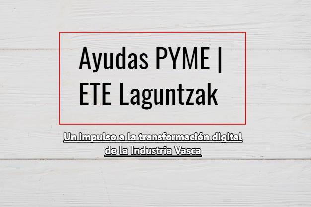 Programa de Ayudas Industria Digitala 2021 País Vasco